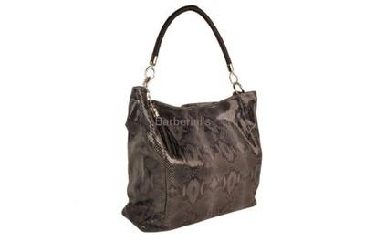 Duże torby damskie Barberini's GRANATOWY
