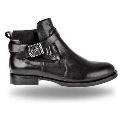 Czarne botki damskie 9511 51 | Sklep online Wojas.pl