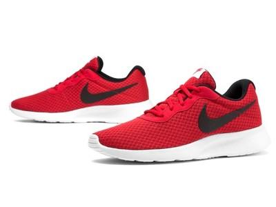 tanie buty nike czerwone meskie