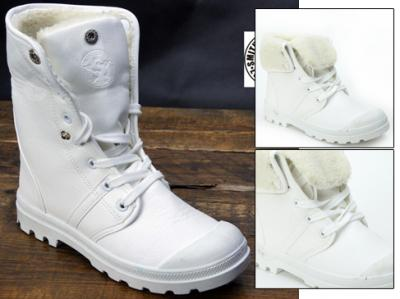 ff5040458152 Buty Zimowe Smiths damskie całe białe 39