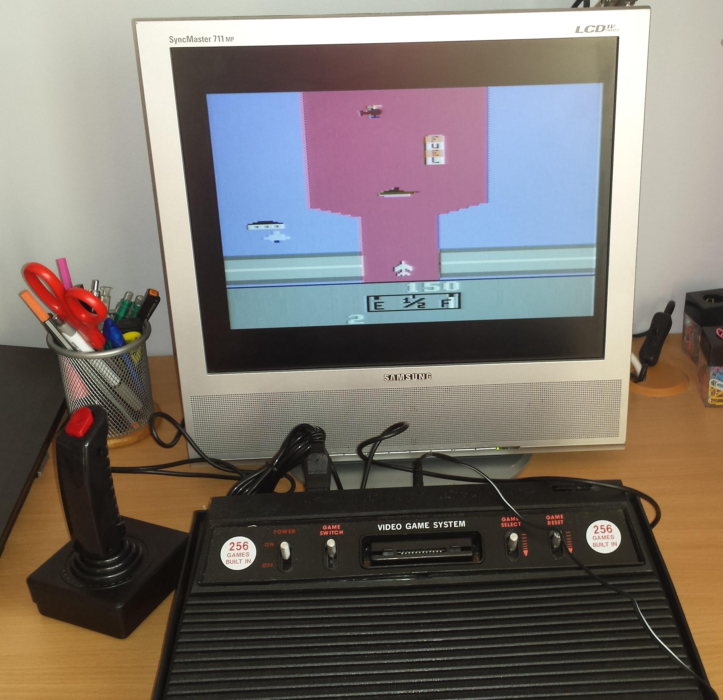 Atari 2600 Rambo 256 gier / nowy / karton /sprawny