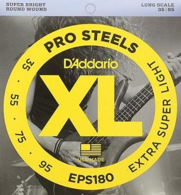 D'Addario EPS180 struny do basu 35-95 stalowe