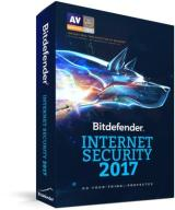 BitDefender Internet Security 2017 3PC/3Lata Kont