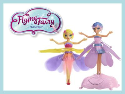 Latajaca Wrozka Tanczaca Lalka Flying Fairy Flower 4823685223 Oficjalne Archiwum Allegro