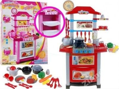 Duża Kuchnia Dla Dzieci Zmywarka Dźwięk Akcesoria