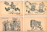 Pocztówka Humor II RP Praca Poczta Żołnierz