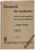 Weber - Deutsch fur Auslander 1943 podręcznik