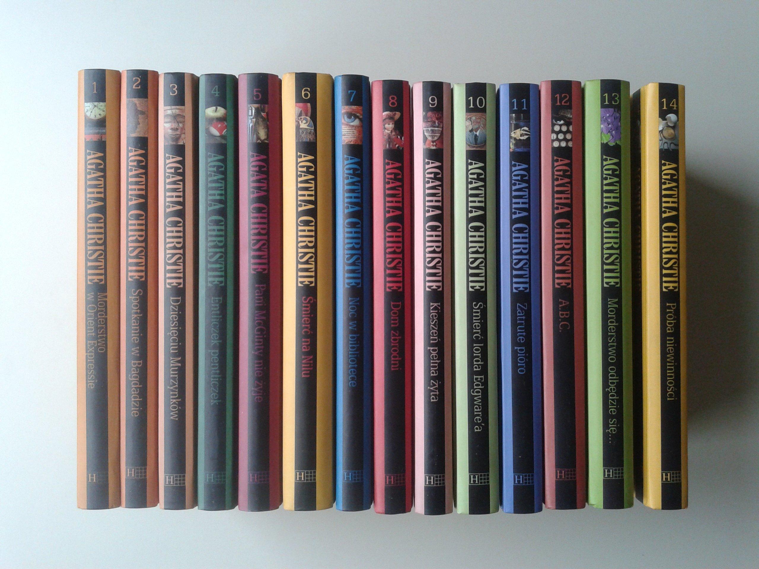 Agatha Christie Kolekcja Hachette 1 14 6957085504 Oficjalne Archiwum Allegro