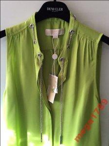 5a958a611e42f MICHAEL KORS nowa piękna bluzka jedwab 100% XS - 6336949694 ...