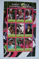 RWANDA 2010 gwiazdy tenisa czyste**