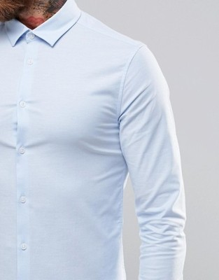 koszula męska exAsos slim fit Oxford XL
