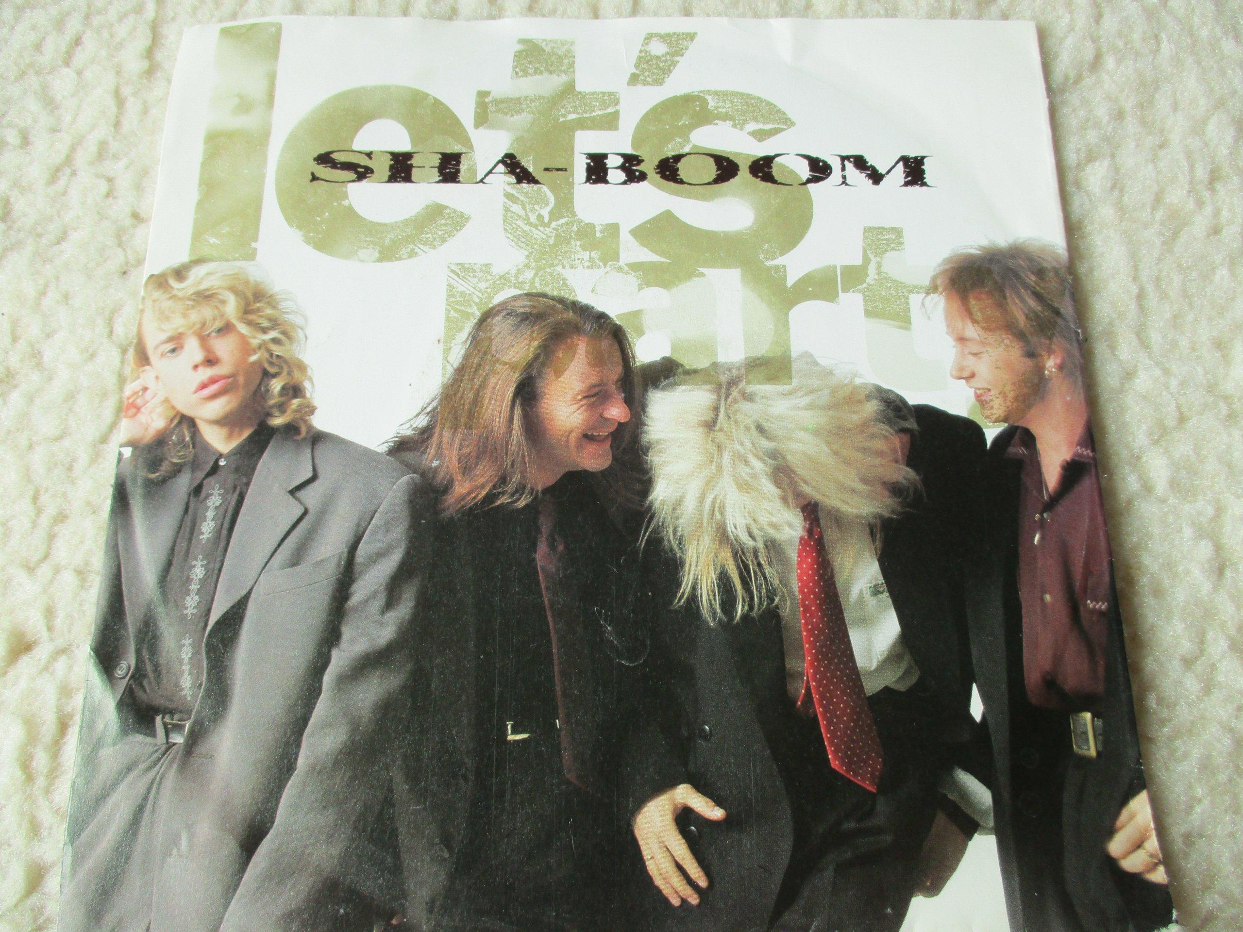SHA  BOOM   7  Let's party  / EX- /