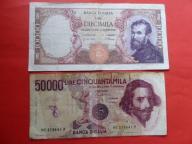 Banknoty..Włochy.