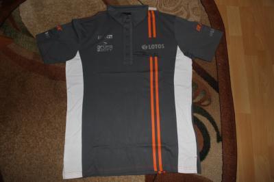 Koszulka Polo ROBERT KUBICA z autografem!!