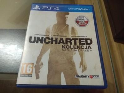 Uncharted Kolekcja PL - Playstation 4