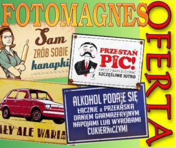 śmieszne Tablice Plakaty Prl Magnes Lodówkę 7x10