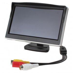 """NAJLEPSZY Monitor 5"""" do kamer cofania 800x480"""