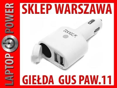 SAMOCHODOWA ŁADOWARKA 2X USB 2.1A ROXA