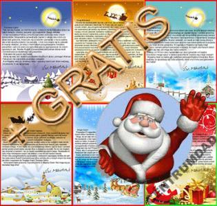 List Od Sw Mikolaja Super Prezent 8 Wzorow Wz006 2787630347 Oficjalne Archiwum Allegro