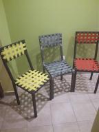 Krzesło metalowe w stylu loft