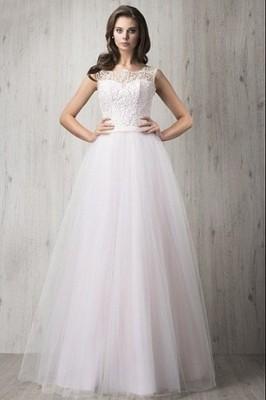 Suknia ślubna Ecru Fularażywczyk R38 Tiulowa 6768926070