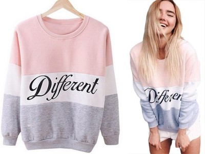 Bluza different w Swetry damskie Allegro.pl