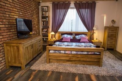 Sypialnia Z Drewna Postarzana Kupuj Osobno 5233138169
