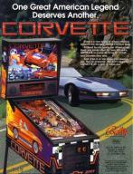 FLIPPER CORVETTE 1994 BALLY DCS SYSTEM