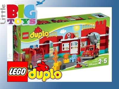 LEGO DUPLO REMIZA STRAŻACKA KLOCKI 10593 - 5570671388 - oficjalne ...