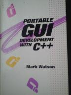 Portable GUI Development with C++ . Mark Watson