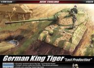 Academy 13229 German King Tiger Last Production (1