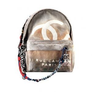 cf097e95d20d1 Plecak chanel Graffiti logo wysyłka od ręki duży - 4896094511 ...