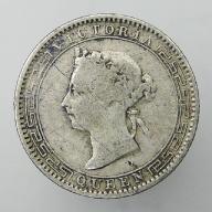 1895 Cejlon brytyjski Wiktoria - 25 centów