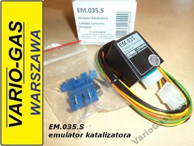 EM.035.S emulator 2 sondy lambda błąd katalizatora