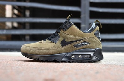 Nike air max 90 mid zimowe zielone army r.40 45 Zdjęcie na