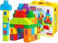 Fisher Price MEGA BLOKS Klocki ABC ECO TORBA 40el.