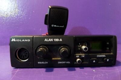 CB RADIO MIDLAND ALAN 199A  16028 T