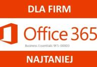 Office 365 Business Essentials dla FIRM