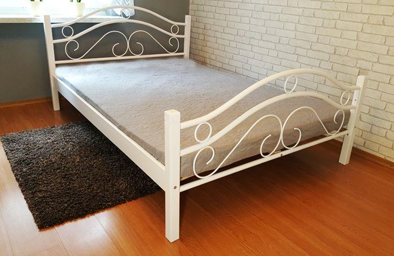 140x200 łóżko Metalowe Stelaz Flex I Materac 12 Cm