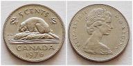 Kanada 5 centów 1976r