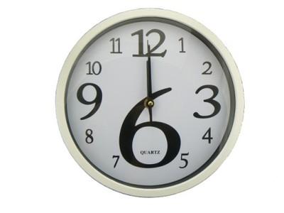 Białe Zegary ścienne Do Kuchni Idealny Prezent