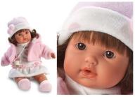 Hiszpańska lalka Sofia płacze 33cm lalki SMOCZEK