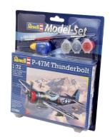 Model do sklejania REVELL P-47 M Thunderbolt + far