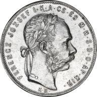 1 forint 1880 Węgry srebro_Nr 7996