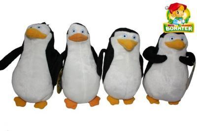 Maskotki Pingwiny z Madagaskaru, pluszaki, 18-20cm