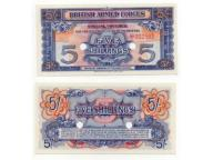 WIELKA BRYTANIA / ARMED FORCES 1948 5 SHILLINGS