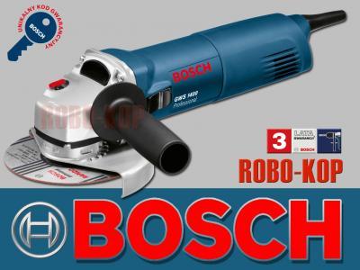 BOSCH GWS 1400 szlifierka kątowa 125mm 1400W
