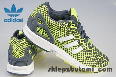 big sale bf781 5e1fa ADIDAS ZX FLUX TECHFIT B24934 RÓŻNE ROZMIARY!!! - 6105742091 ...