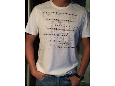 T-shirt Calvin Klein rozm S biały
