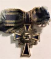 Niemiecki krzyż Miniaturka. Oryginał !!! 1938 .